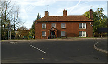 TR0650 : Please red-brick house beside the A28 at Godmersham by David Long