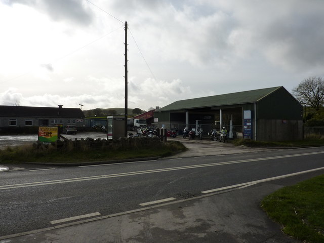 The Yondermann Cafe, A623, Wardlow Mires