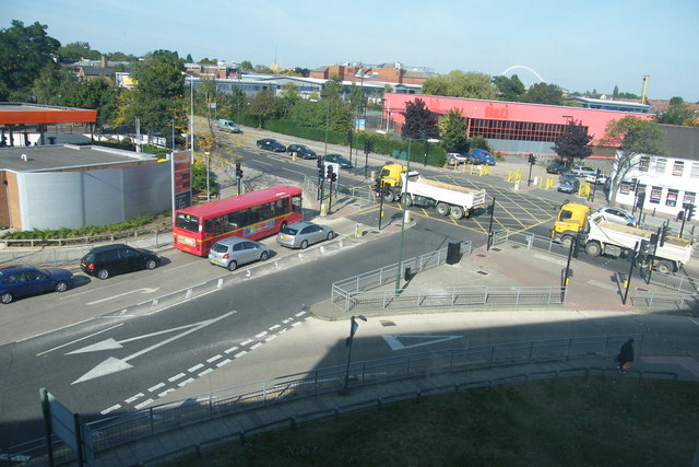 Junction of Ealing Road and Glacier Way