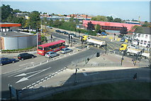 TQ1883 : Junction of Ealing Road and Glacier Way by John Bussey