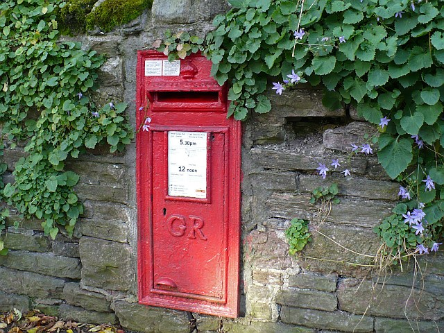 George V postbox with a suffragette  connection, Risca Road, Newport
