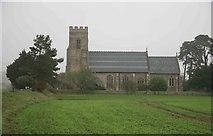 TG0135 : Gunthorpe church by roger geach