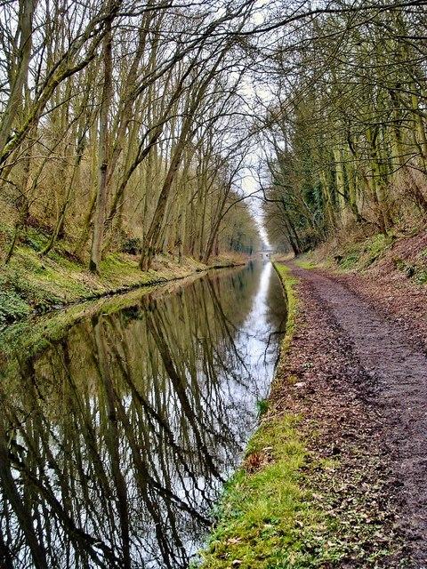 Shropshire Union Canal, nr Wheaton Aston