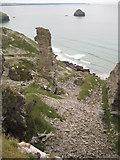 SX0587 : Lanterdan Quarry by Philip Halling