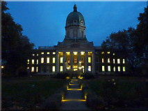 TQ3179 : Evening at the Imperial War Museum, Lambeth Road by pam fray