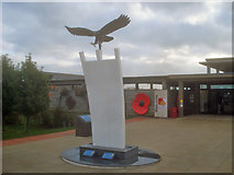 SK1814 : Entrance to the National Memorial Arboretum and the Berlin Airlift Memorial by Trevor Rickard