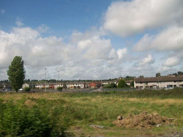 Wasteground between the railway line and Ecco Road, Dundalk