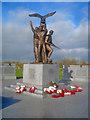SK1814 : The Polish War Memorial - 2 by Trevor Rickard