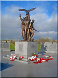SK1814 : The Polish War Memorial - 2 by Trevor Rickard