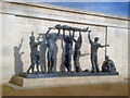 SK1814 : Statue at the Armed Forces Memorial by Trevor Rickard