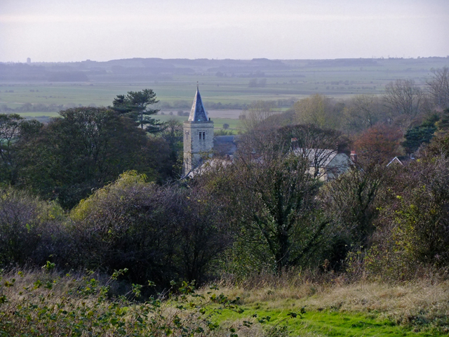 Worlaby Church seen from Wold Road