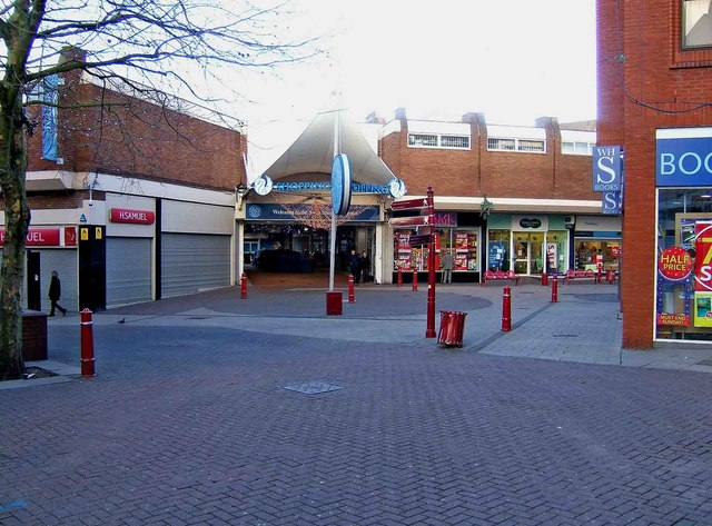 Swan Centre entrance