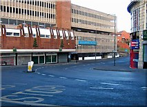 SO8376 : Swan Centre Car Park, Blackwell Street by P L Chadwick