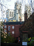 SE6052 : York Minster from the city wall by Stephen McKay