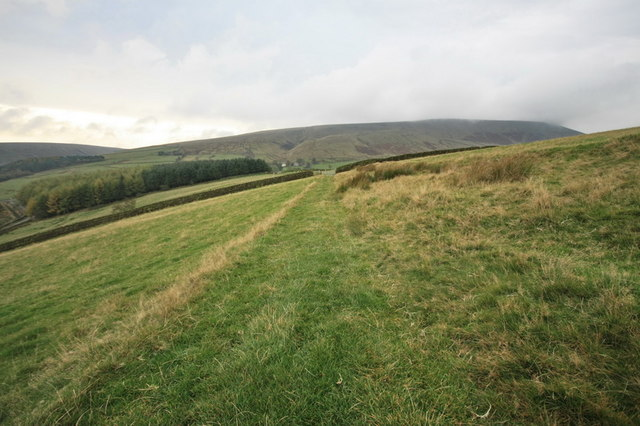 Footpath towards Pendle Hill