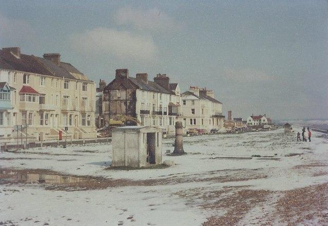 Marine Parade, Littlestone 1983