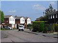 SU9089 : Churchill Close, Flackwell Heath by Andrew Smith