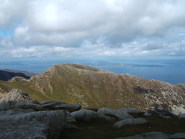From the summit of Goatfell