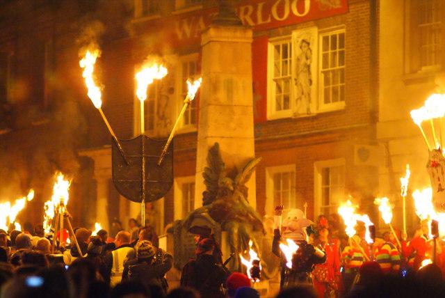 Lewes Guy Fawkes Night Celebrations (6)