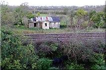 R5623 : Garriencoona, Railway Building by john salter