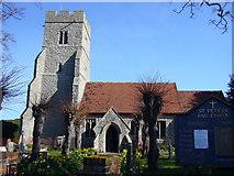 TQ9293 : St Peters church Paglesham by Mark Loosemore