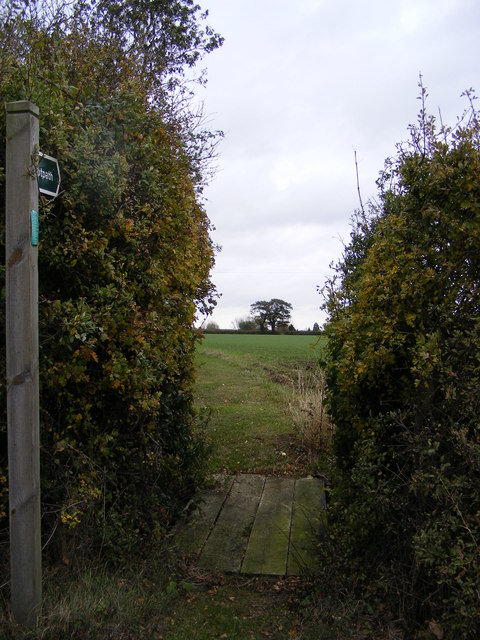 Footpath to Peppers Wash