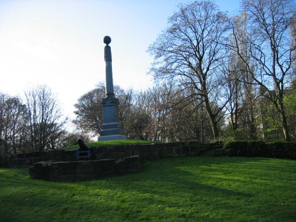 Boer War Memorial in Carr Ellison Park, Hebburn