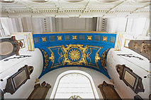 TQ2880 : Grosvenor Chapel, South Audley Street, Mayfair - Celure by John Salmon