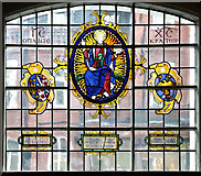 TQ2880 : Grosvenor Chapel, South Audley Street, Mayfair - Window by John Salmon