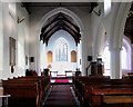 TM1085 : St Mary's church - view east by Evelyn Simak