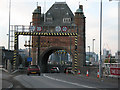 TQ3979 : Southern portal of the northbound Blackwall Tunnel by Stephen Craven