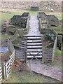 SK1695 : Packhorse Bridge at Slippery Stones by John Proctor
