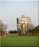 TM1888 : Water tower beside the A140 by Evelyn Simak