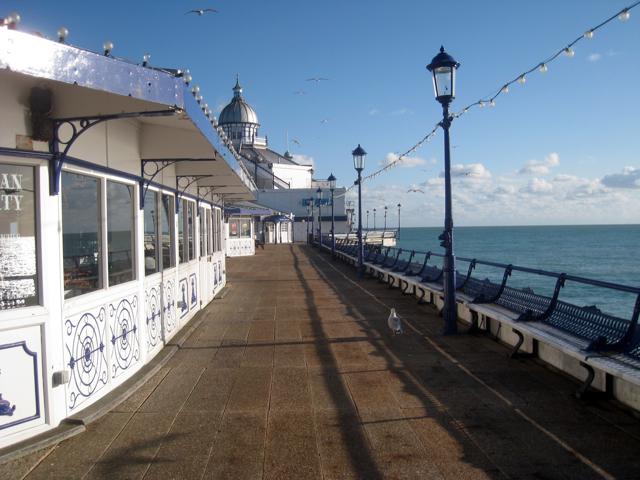 Promenade on Eastbourne Pier