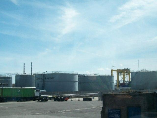 Iarnród Éireann's Fuel Depot, Tolka Road Quay