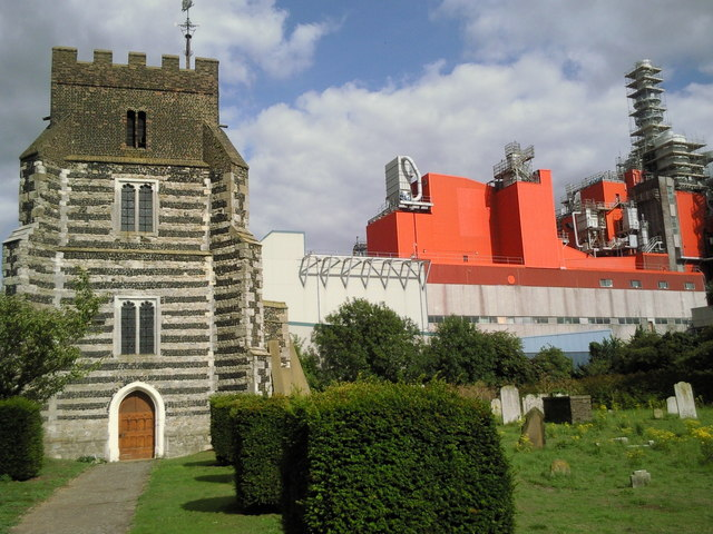 St Clement's Church, West Thurrock and Procter & Gamble