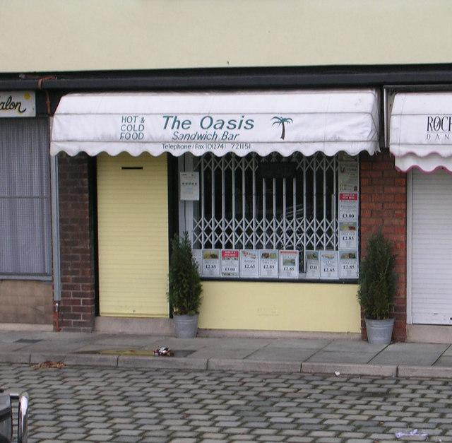 The Oasis Sandwich Bar - Barkerend Road