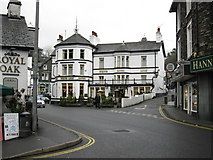 NY3704 : White Lion Hotel by don cload