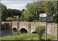 SP1106 : The Road Bridge, Bibury by Cameraman