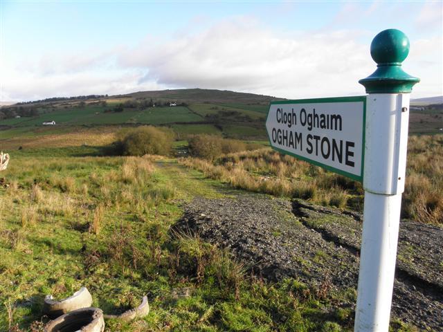 Sign, Ogham Stone