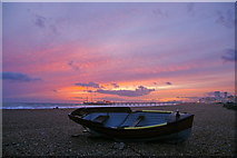 TQ3103 : Brighton Beach by Christine Matthews