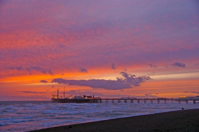 Brighton Beach and Pier