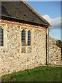 TF9532 : St. Andrew's church Little Snoring, location of mass dial by Mark Hurn
