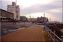 SD3036 : The Promenade at Blackpool by Steve Daniels