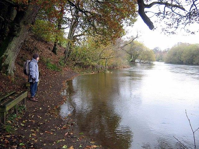 Footpath alongside the River Eamont