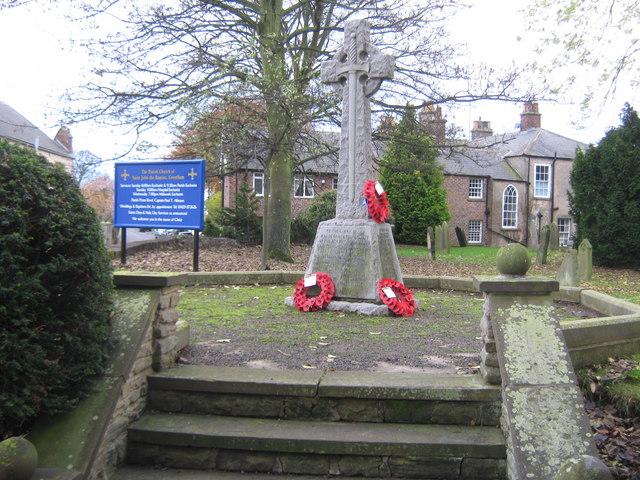 War Memorial, Greatham