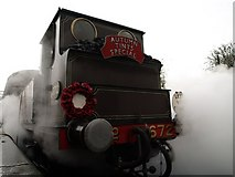 TQ4023 : Armistice Day at Sheffield Park Station on the Bluebell Railway by tristan forward