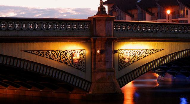 The Albert Bridge, Belfast (2)