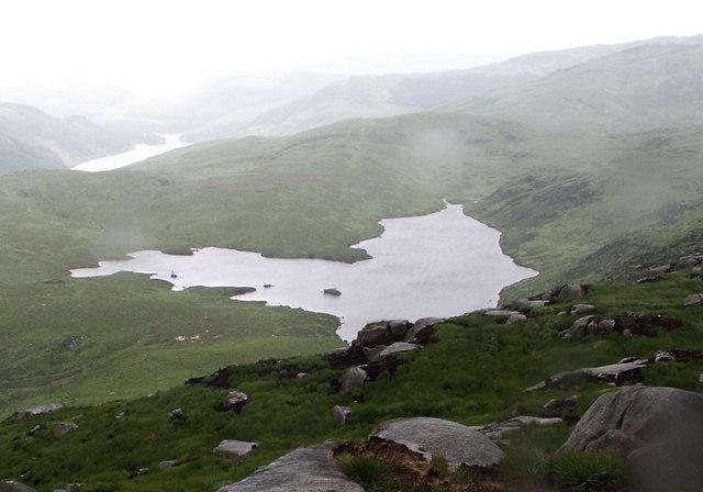Long Loch of Glenhead near Clints of the Buss, Galloway Hills