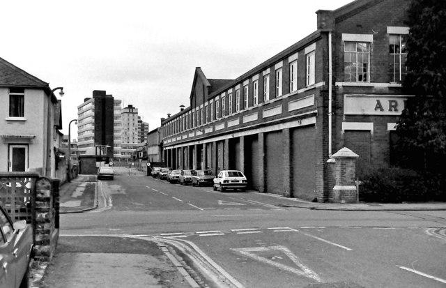 Garrard Factory, Newcastle Street & Plymouth Street